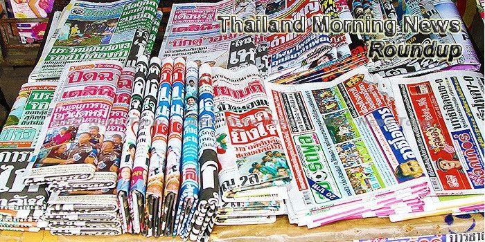 Thailand Morning News For November 22