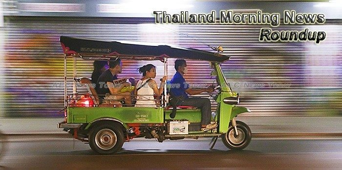 Thailand Morning News For January 8
