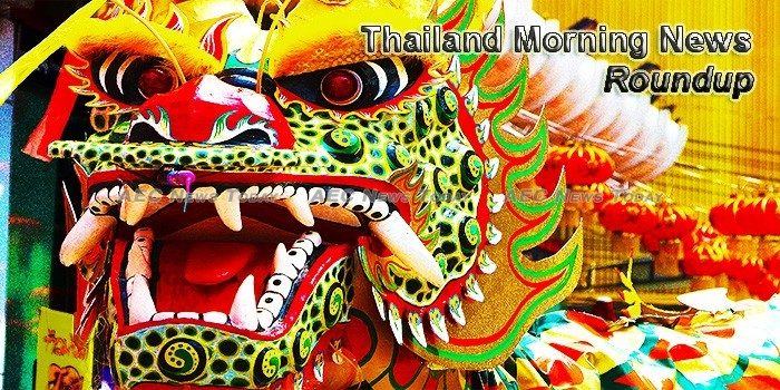 Thailand Morning News For February 20