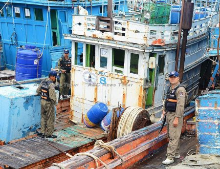 Thousands of vessels have been removed from the Thai fishing fleet as part of its efforts to comply with EU IUU fishing regulations