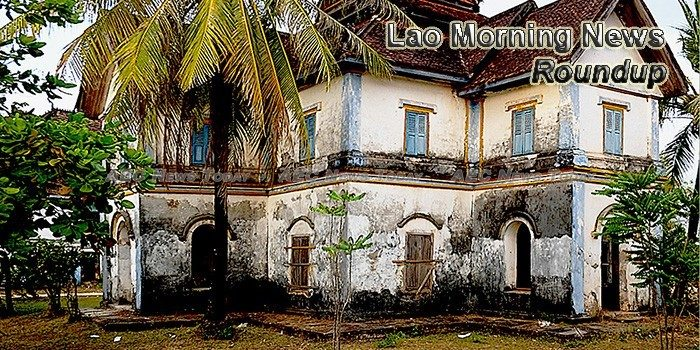 Lao Morning News For April 19