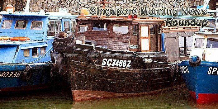 Singapore Morning News For April 13