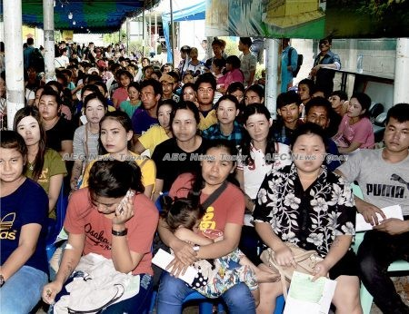 Between February 5 and March 31 last year Thailand registered and verified 961,946 migrant workers, with a further 360,222 registered, but waiting to complete document verification processing.