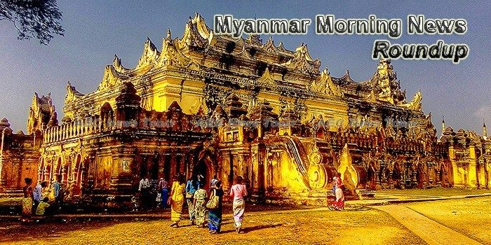 Myanmar Morning News For May 8