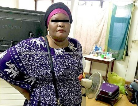 The woman detained in Monday night's raids identified as 'Sadaa', the 'grandmother' of human trafficking of Ugandan women into the Thai sex industry