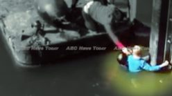 Nong Khai, Thailand man hailed a hero for saving young German boy (HD video)