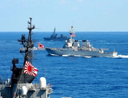 The United States has successfully recruited Japan to join its struggle against China