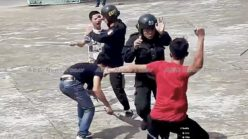 Watch unarmed HCMC 'fists of steel' cops deal with armed perps (HD video)