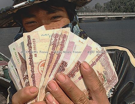 Minimum wages in Lao have increased eight times over the past two decades to now earn about $129 a month