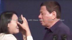 Rodrigo 'the lounge-lizard' Duterte's abuse of power kiss infuriates (video)
