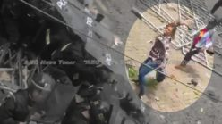 Embarrassing: Elite Vietnamese anti-terror police saved by fireworks (video)