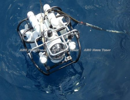 The turbid water conditions are preventing a Remotely Operated underwater Vehicle (Rov) developed by King Mongkut's University of Technology North Bangkok (KMUTNB) from being effectively deployed