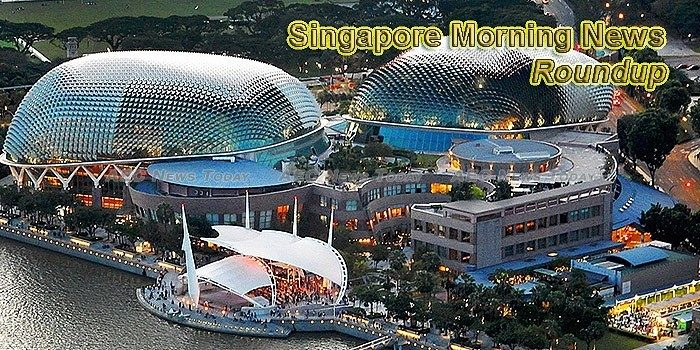 Singapore Morning News For June 25