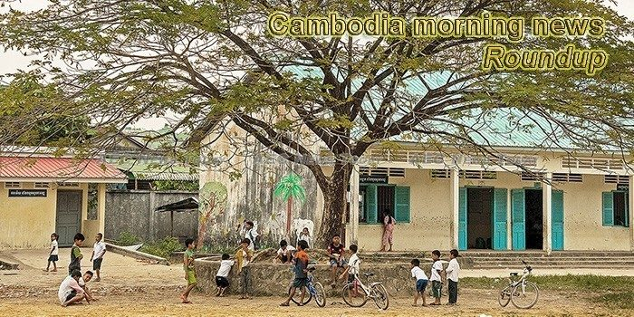Cambodia morning news for July 26
