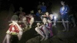 First video of Thailand football team trapped in flooded cave alive (HD video) *updated