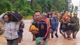 Thousands of residents were displaced in the wake of the incident