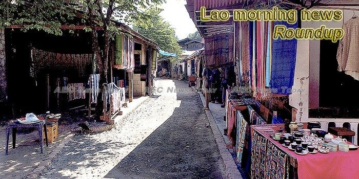 Lao morning news for July 25