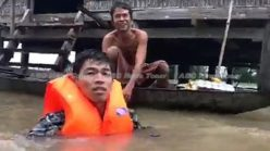 Cambodia floods: FB media org. live streams relief delivery (video)