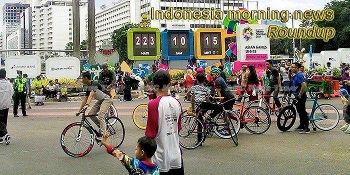 Indonesia morning news for September 4