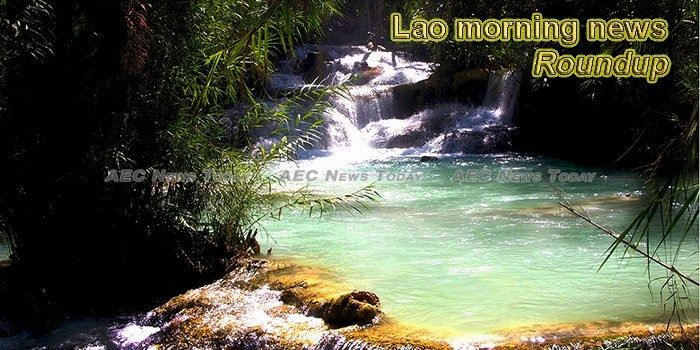 Lao morning news for August 8