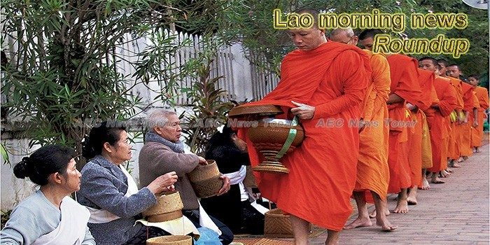 Lao morning news for August 17