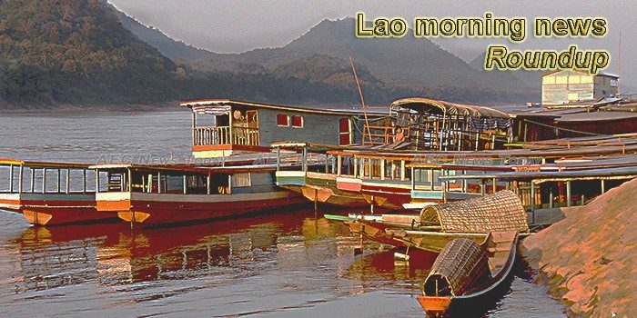 Lao morning news for August 20
