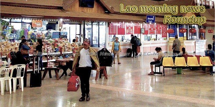 Lao morning news for September 7