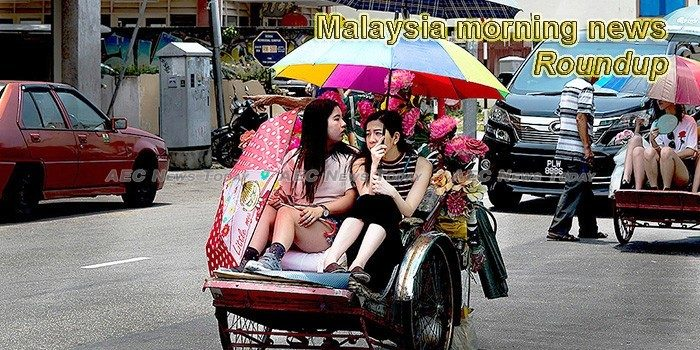 Malaysia morning news for August 15