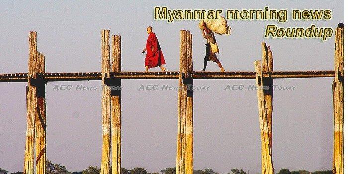 Myanmar morning news for August 20