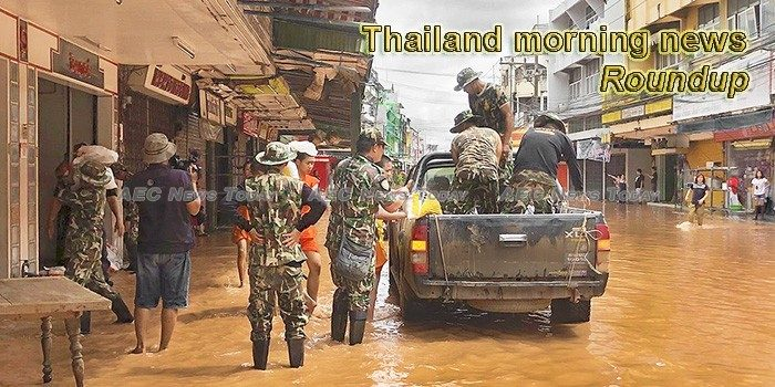 Thailand morning news for August 24