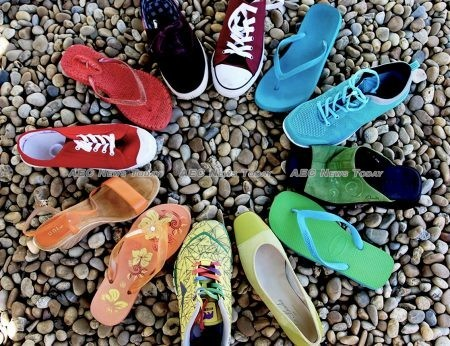 Indonesian SMEs in the fashion sector export stylish footwear worldwide while building women's business skills.