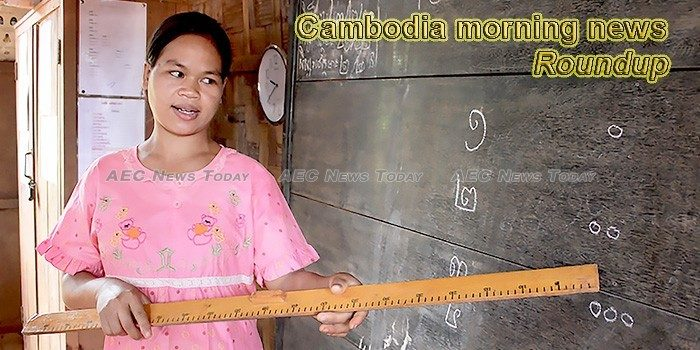 Cambodia morning news for October 3