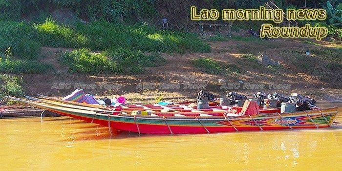 Lao morning news for September 18