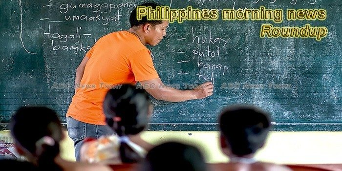 Philippines morning news for October 5