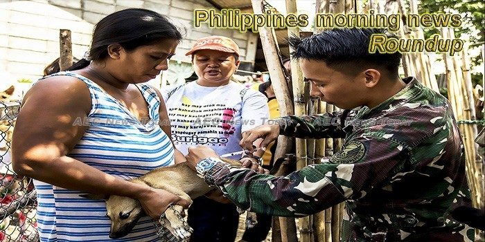 Philippines morning news for September 27
