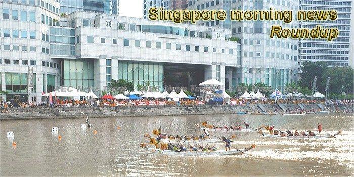 Singapore morning news for September 17