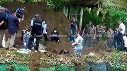 Thai police recover body of murdered Scot Alan Hogg & Thai wife Nott Suddaen (video)
