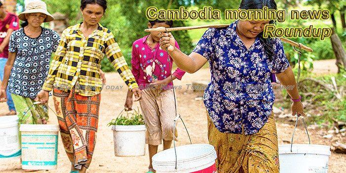 Cambodia morning news for October 19