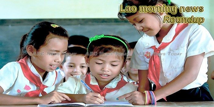 Lao morning news for October 8
