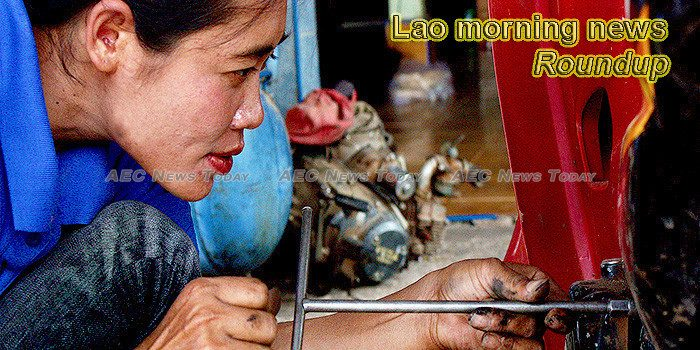 Lao morning news for October 17