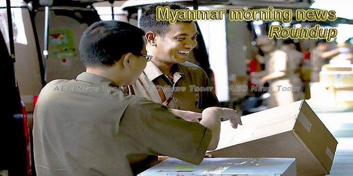 Myanmar morning news for October 10