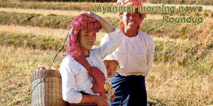 Myanmar morning news for October 18