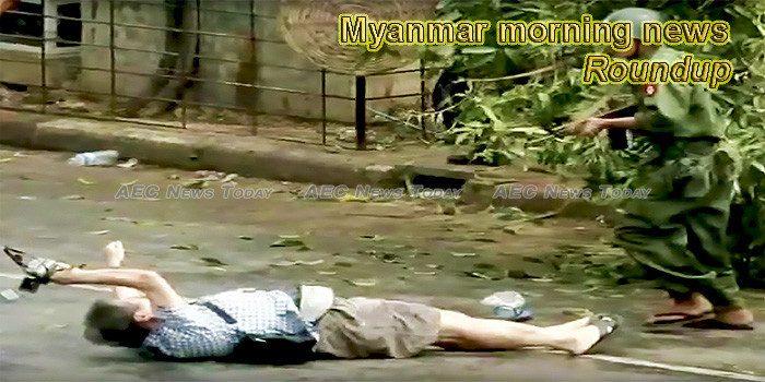 Myanmar morning news for October 31