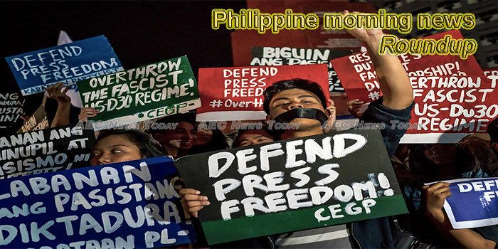 Philippines morning news for October 31
