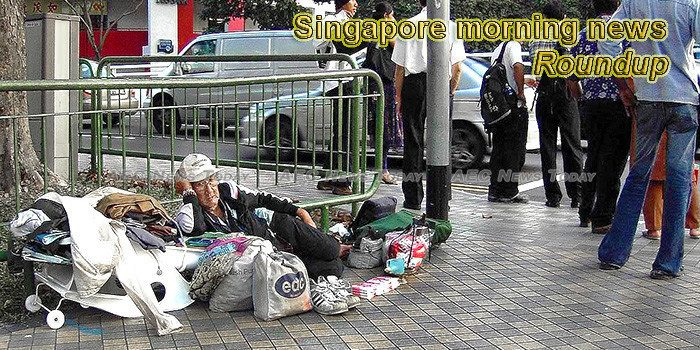 Singapore morning news for October 19