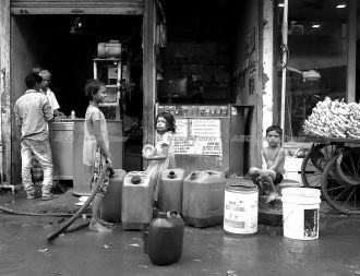 Sarath Kuttikkatuparambil Thilakan won the supplying water category
