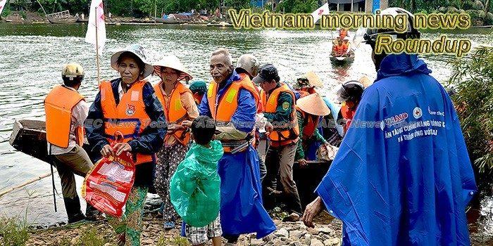 Vietnam morning news for October 10