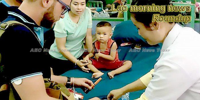 Lao morning news for November 14