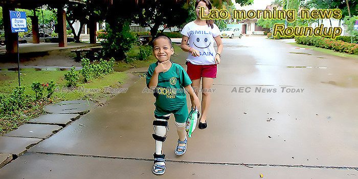 Lao morning news for December 3