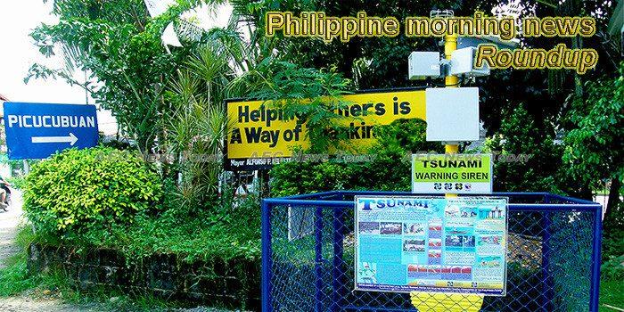 Philippines morning news for November 8